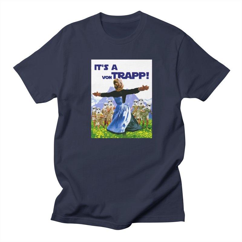 It's a Von Trapp! Men's T-Shirt by Brother Adam Design