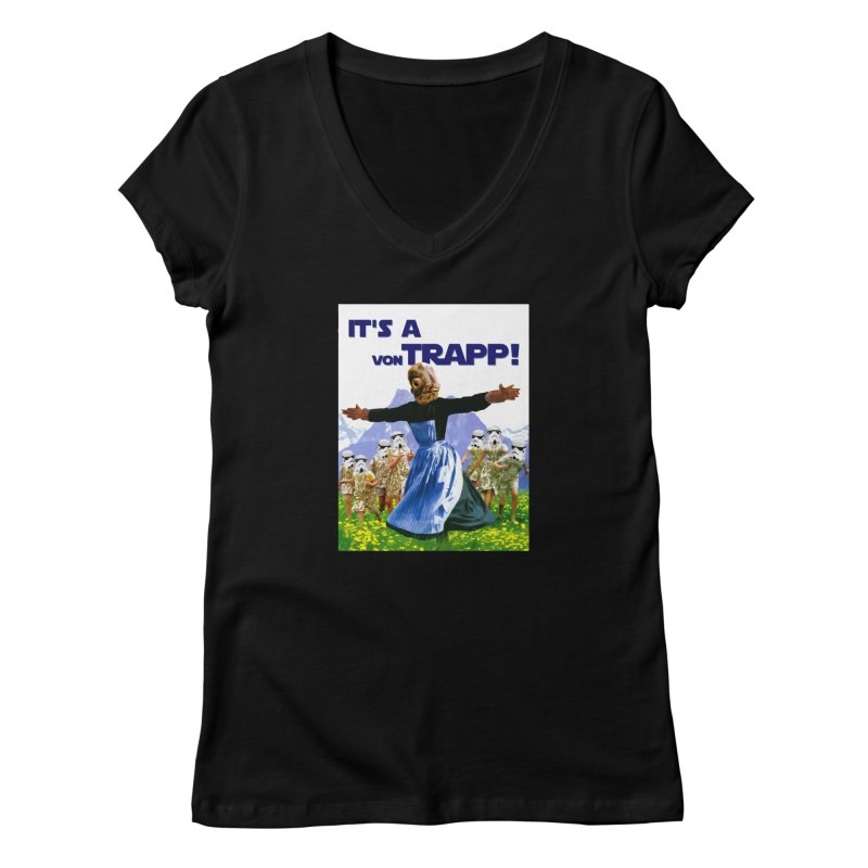 It's a Von Trapp! Women's V-Neck by Brother Adam Design