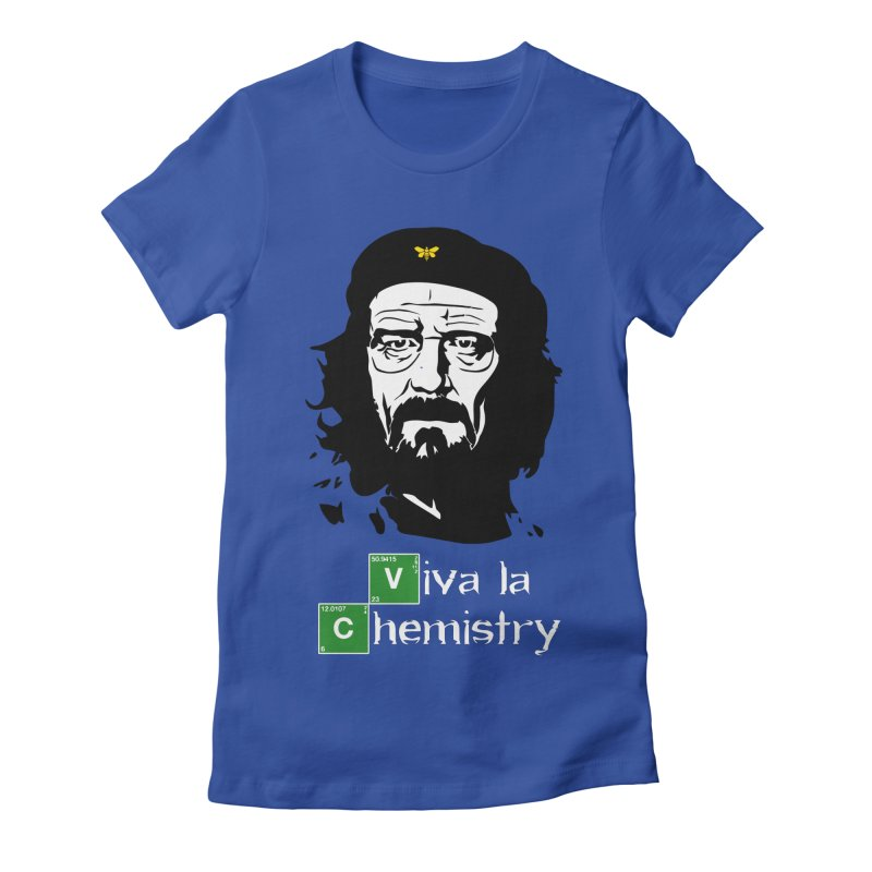 Viva La Chemistry Women's Fitted T-Shirt by Brother Adam Design