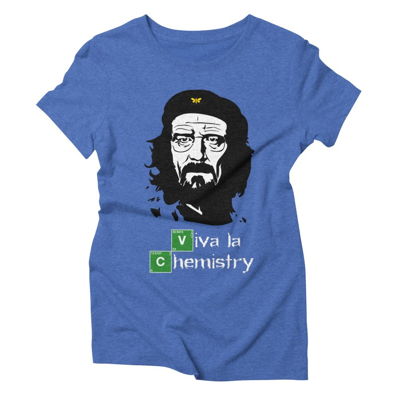 Viva La Chemistry Women's Triblend T-Shirt by Brother Adam Design