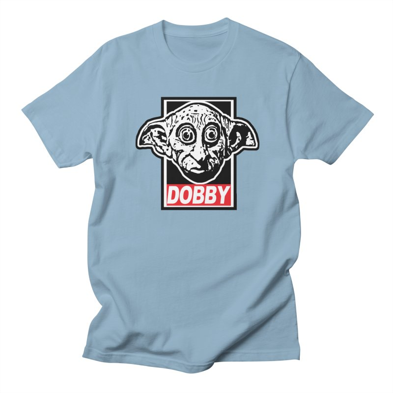 Dobby Women's Regular Unisex T-Shirt by Brother Adam Design