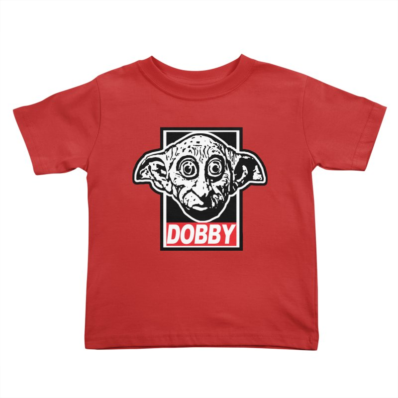 Dobby Kids Toddler T-Shirt by Brother Adam Design