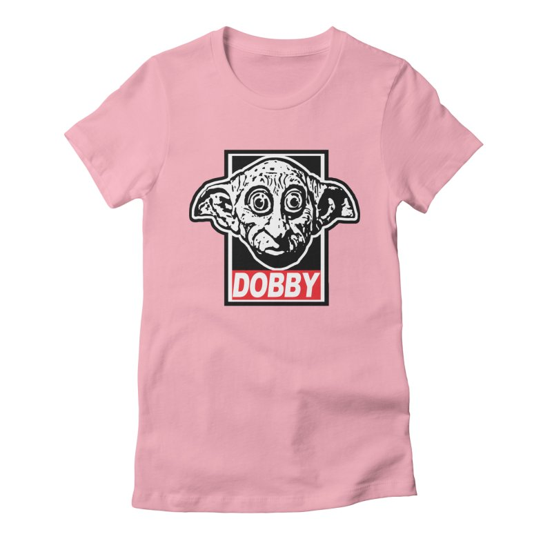 Dobby Women's Fitted T-Shirt by Brother Adam Design