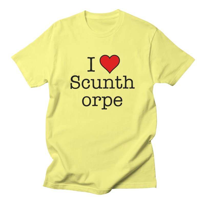 I Love Scunthorpe Men's T-Shirt by Brother Adam Design