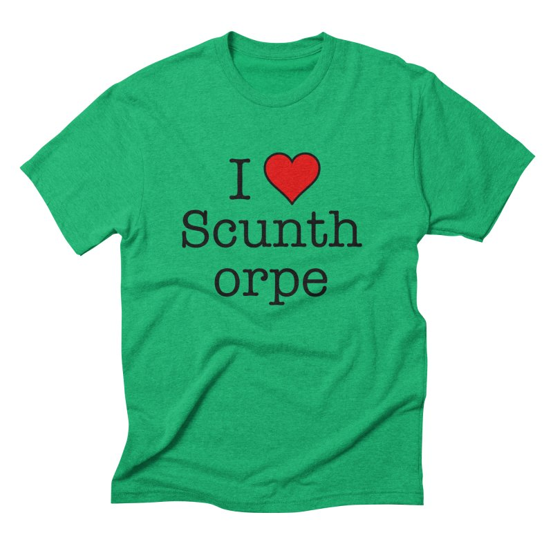 I Love Scunthorpe Men's Triblend T-Shirt by Brother Adam Design