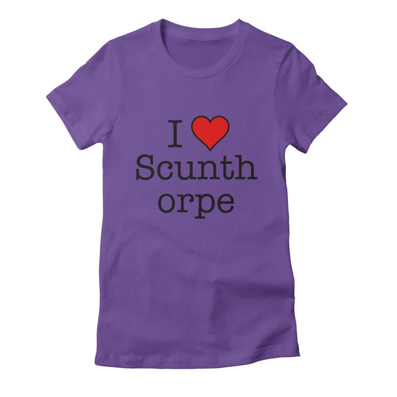 I Love Scunthorpe Women's T-Shirt by Brother Adam Design