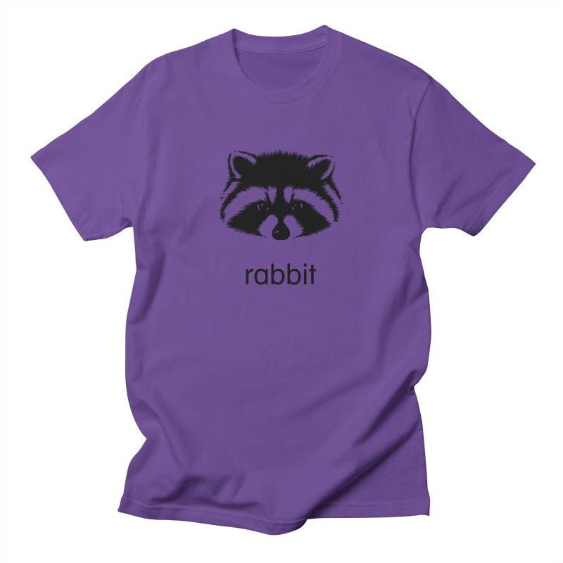 Rabbit Men's T-Shirt by Brother Adam Design