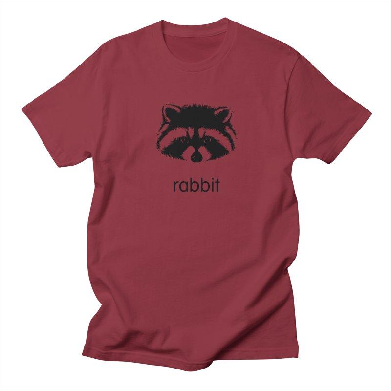 Rabbit Men's Regular T-Shirt by Brother Adam Design