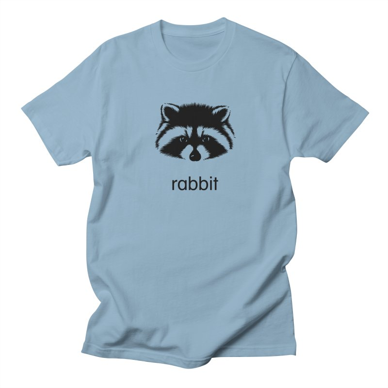 Rabbit Men's Regular T-Shirt by Brother Adam Design