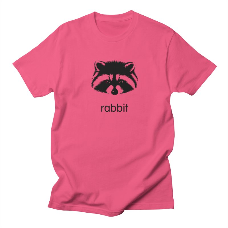 Rabbit Women's Regular Unisex T-Shirt by Brother Adam Design