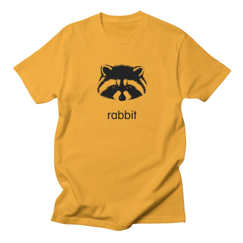 Rabbit Men's T-Shirt by Brother Adam Design