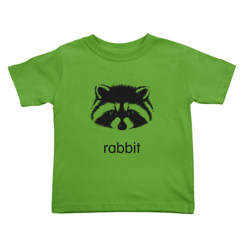 Rabbit Kids Toddler T-Shirt by Brother Adam Design
