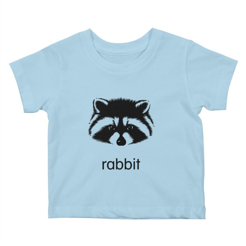 Rabbit Kids Baby T-Shirt by Brother Adam Design