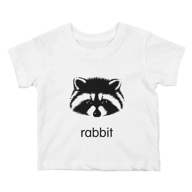 Rabbit Kids Baby T-Shirt by Brother Adam Design