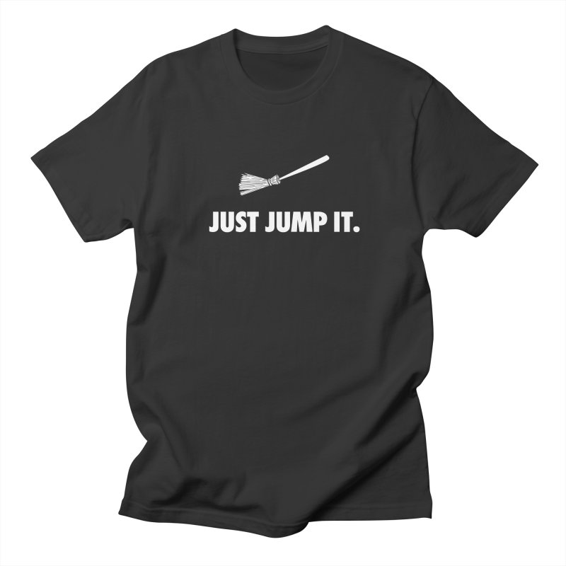 Jump The Broom Men's Regular T-Shirt by Brother Adam Design