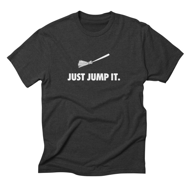 Jump The Broom Men's Triblend T-Shirt by Brother Adam Design