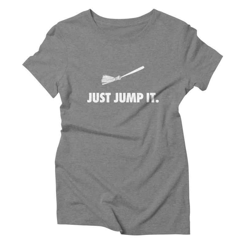 Jump The Broom Women's Triblend T-Shirt by Brother Adam Design