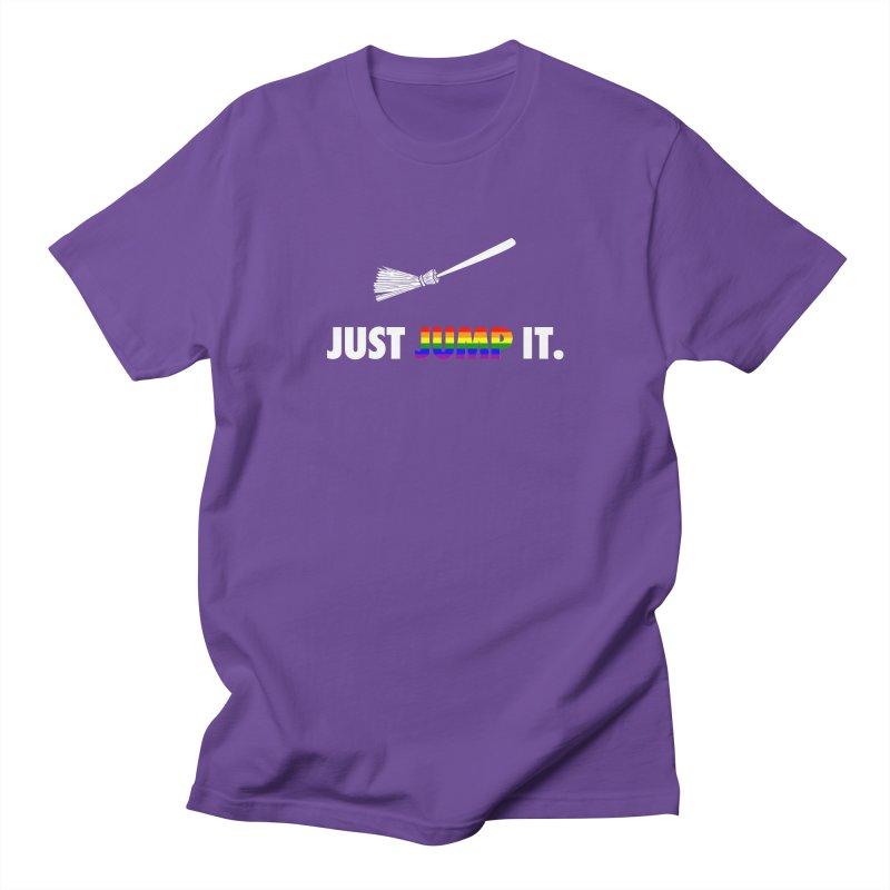 Jump The Broom - Pride Women's Regular Unisex T-Shirt by Brother Adam Design