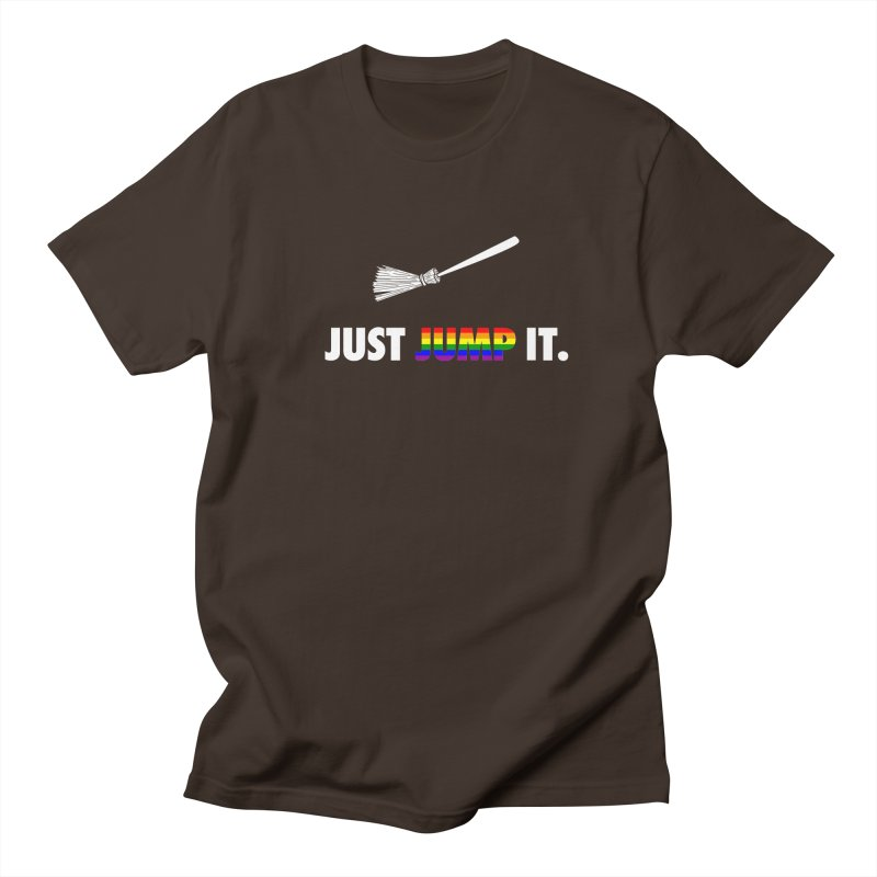 Jump The Broom - Pride Men's Regular T-Shirt by Brother Adam Design
