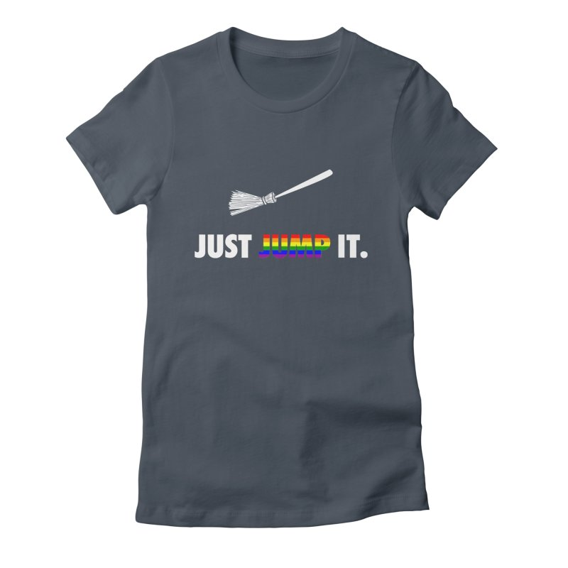 Jump The Broom - Pride Women's T-Shirt by Brother Adam Design