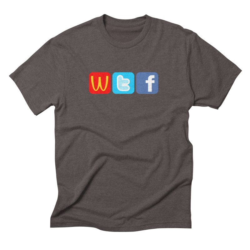 Signs of the Times... WTF! Men's T-Shirt by Brother Adam Design