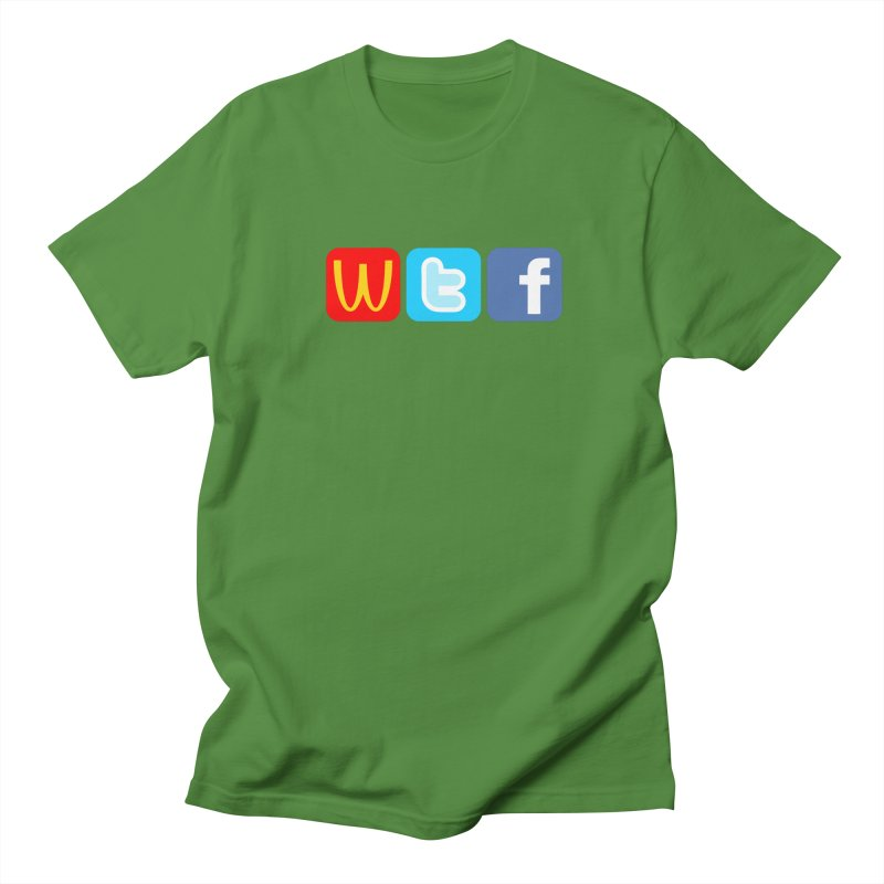 Signs of the Times... WTF! Women's Regular Unisex T-Shirt by Brother Adam Design