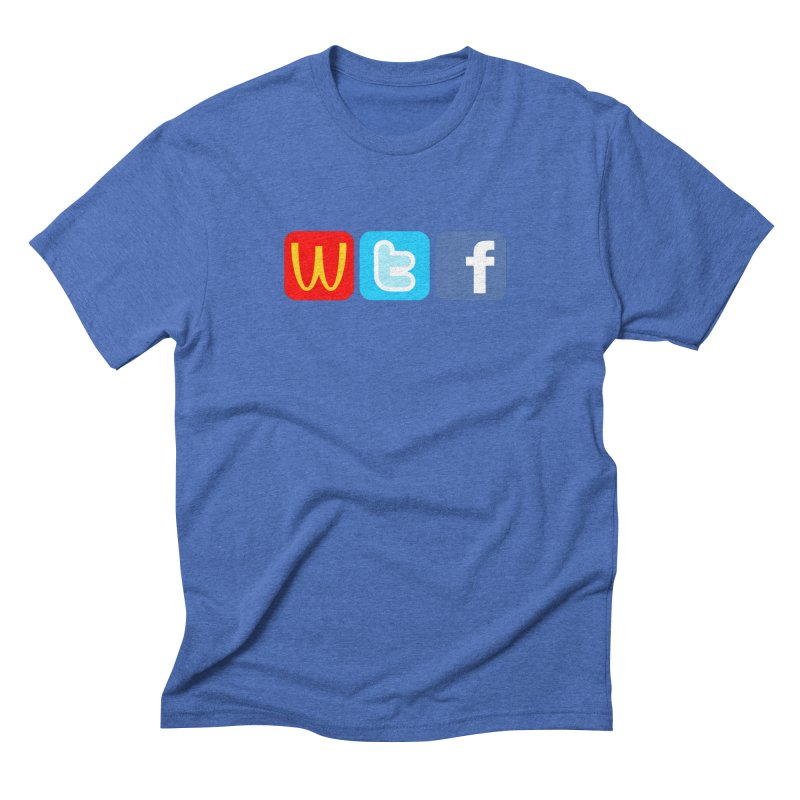 Signs of the Times... WTF! Men's Triblend T-Shirt by Brother Adam Design