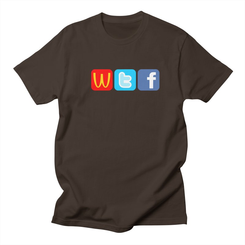 Signs of the Times... WTF! Men's Regular T-Shirt by Brother Adam Design