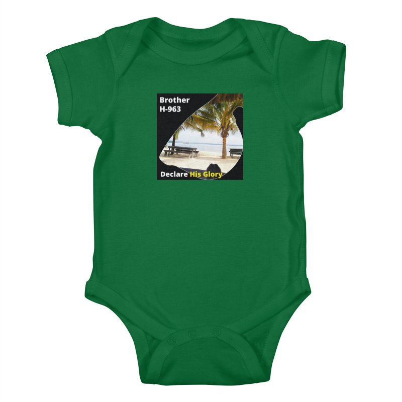 Brother H-963 Apparel Kids Baby Bodysuit by Brother H-963 Shop