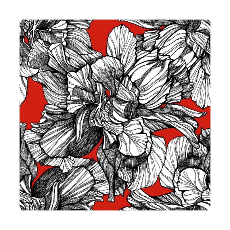 brownwilliam red hibiscus   by brownwilliam shop
