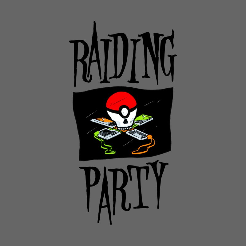 Raiding Party by Shirts by Bruce Freeby