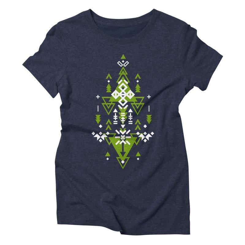 Earth Women's Triblend T-Shirt by Bru & Gru