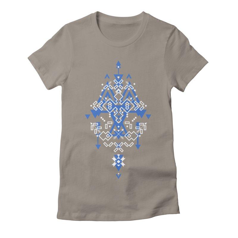 Wind Women's Fitted T-Shirt by Bru & Gru