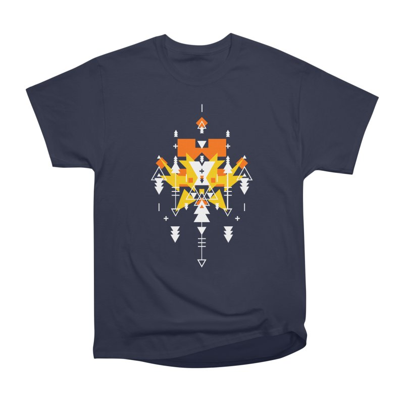 Fire Women's Heavyweight Unisex T-Shirt by Bru & Gru
