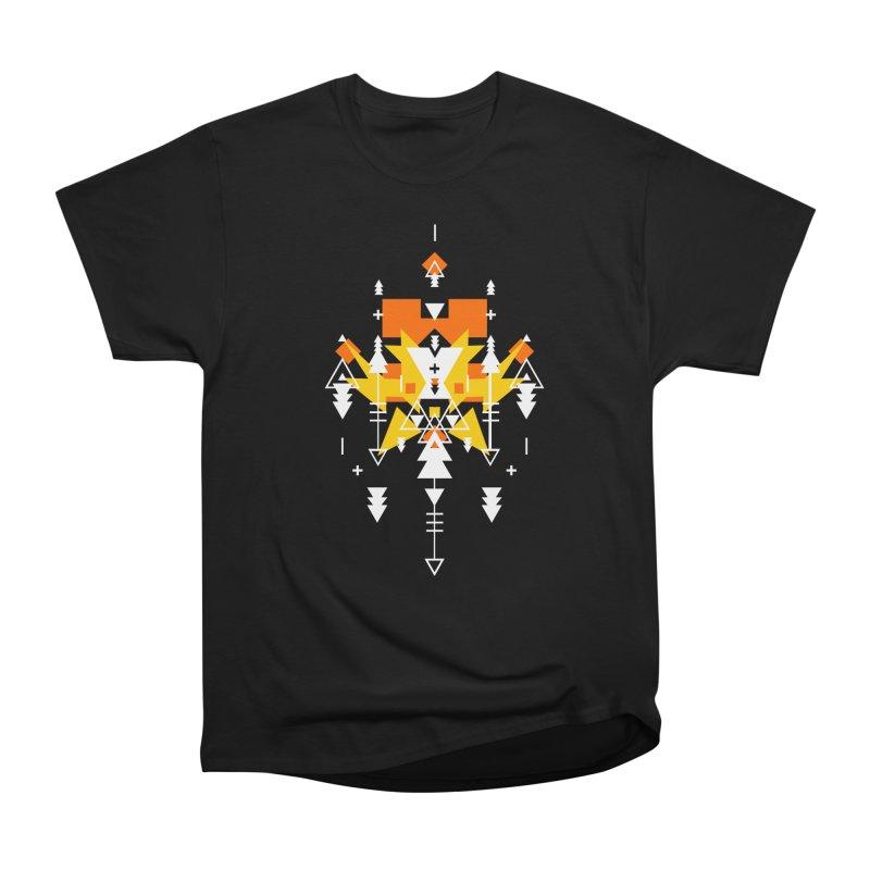 Fire Men's Heavyweight T-Shirt by Bru & Gru