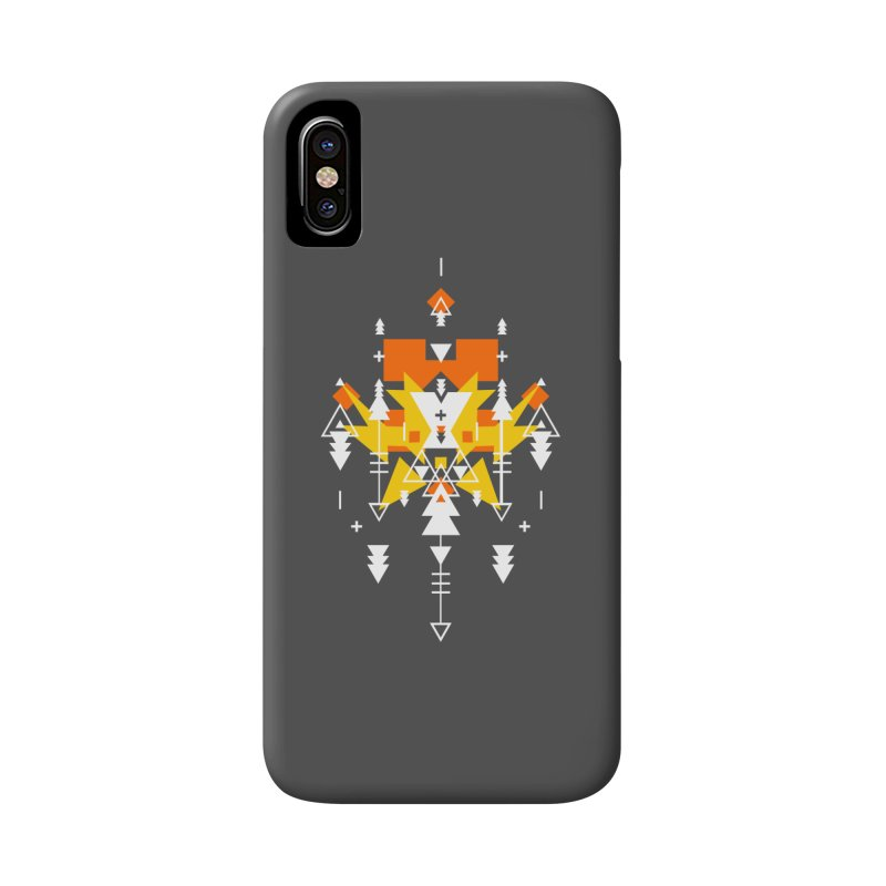 Fire Accessories Phone Case by Bru & Gru