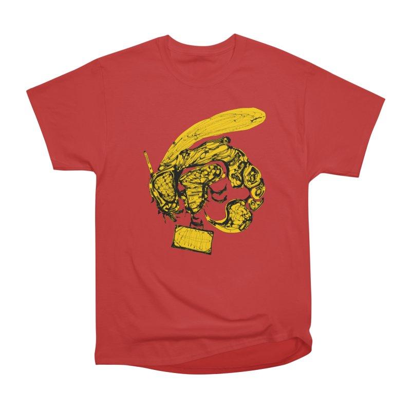 Busy Bee Men's Heavyweight T-Shirt by Bru & Gru