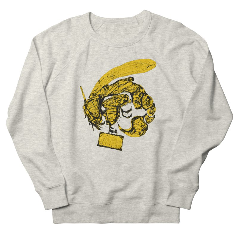 Busy Bee Men's French Terry Sweatshirt by Bru & Gru