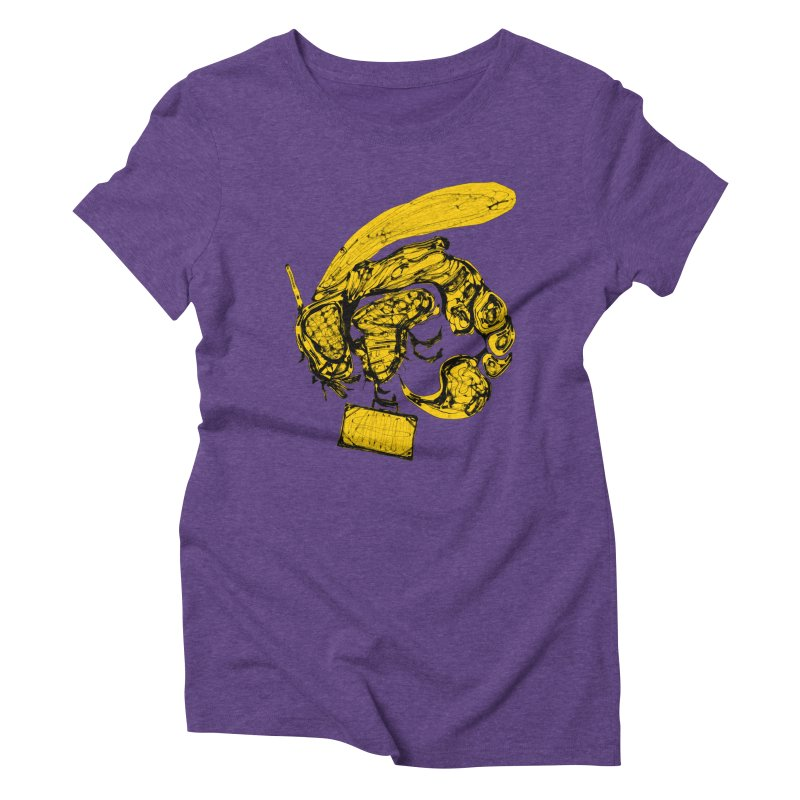 Busy Bee Women's Triblend T-Shirt by Bru & Gru