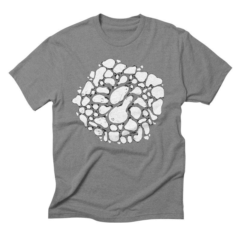 Pebbles Men's Triblend T-Shirt by Bru & Gru