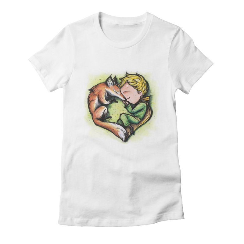 Tamed Women's Fitted T-Shirt by brunomota's Artist Shop