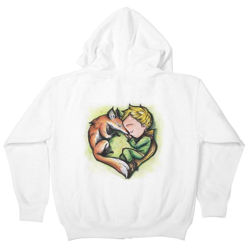 Tamed Kids Zip-Up Hoody by brunomota's Artist Shop