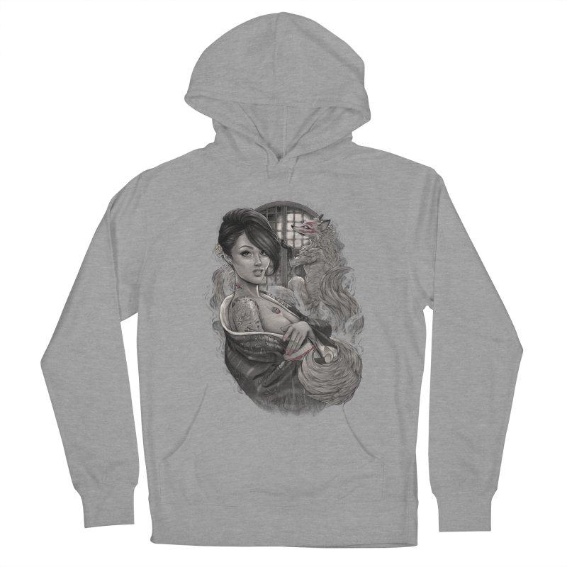 Kitsune Men's Pullover Hoody by brunomota's Artist Shop