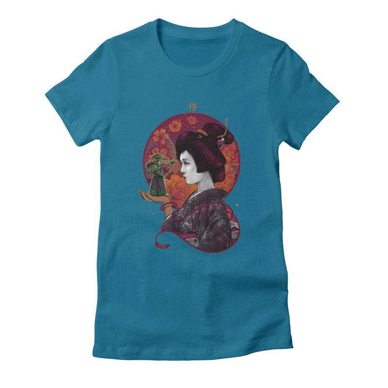 Your Eyes Are Shield Women's Fitted T-Shirt by brunomota's Artist Shop