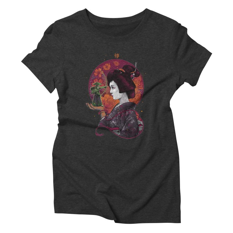 Your Eyes Are Shield Women's Triblend T-shirt by brunomota's Artist Shop
