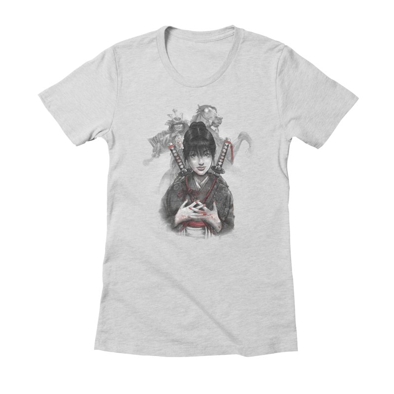 The Masashige Pupil Women's Fitted T-Shirt by brunomota's Artist Shop