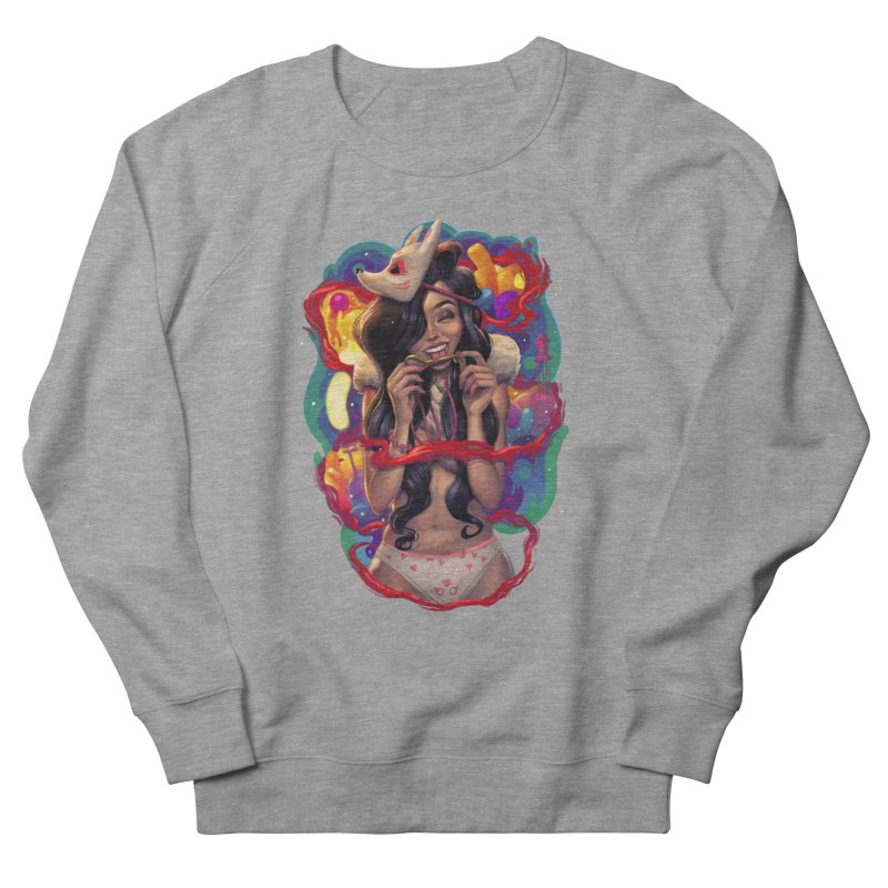 Kitsune Girl Women's Sweatshirt by brunomota's Artist Shop