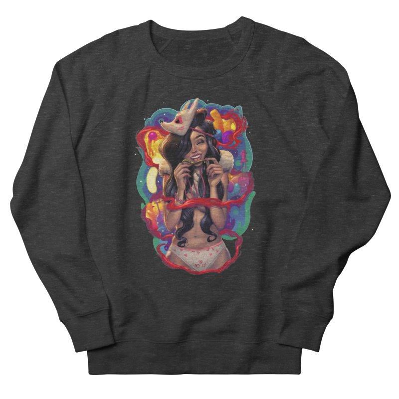 Kitsune Girl Men's Sweatshirt by brunomota's Artist Shop