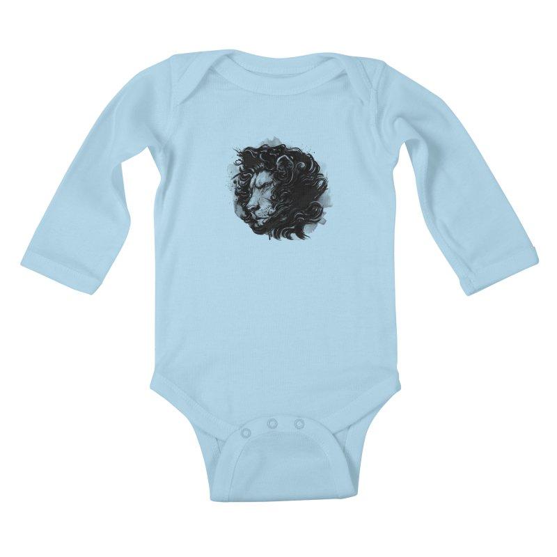 Haarieh Mishevet Yehuda Kids Baby Longsleeve Bodysuit by brunomota's Artist Shop