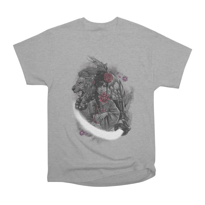 Kaze No Raion Women's Heavyweight Unisex T-Shirt by brunomota's Artist Shop